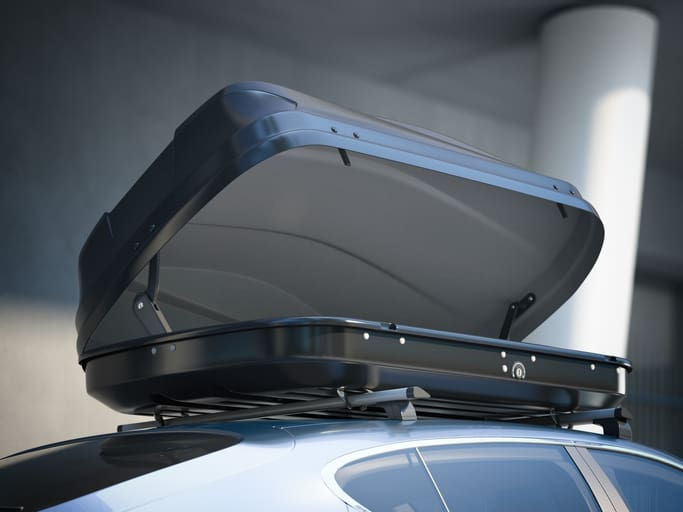 image for an open Roof Box
