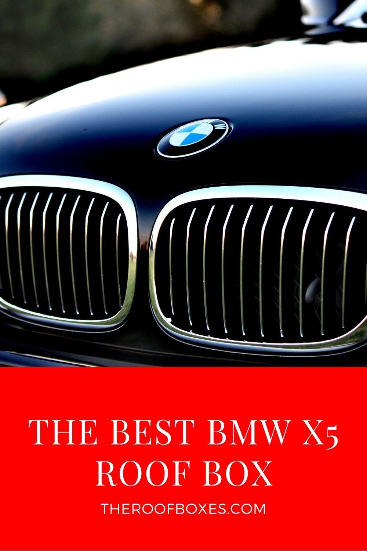 BMW X5 Roof Box