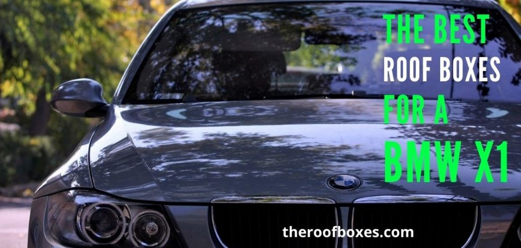 BMW X1 roof box
