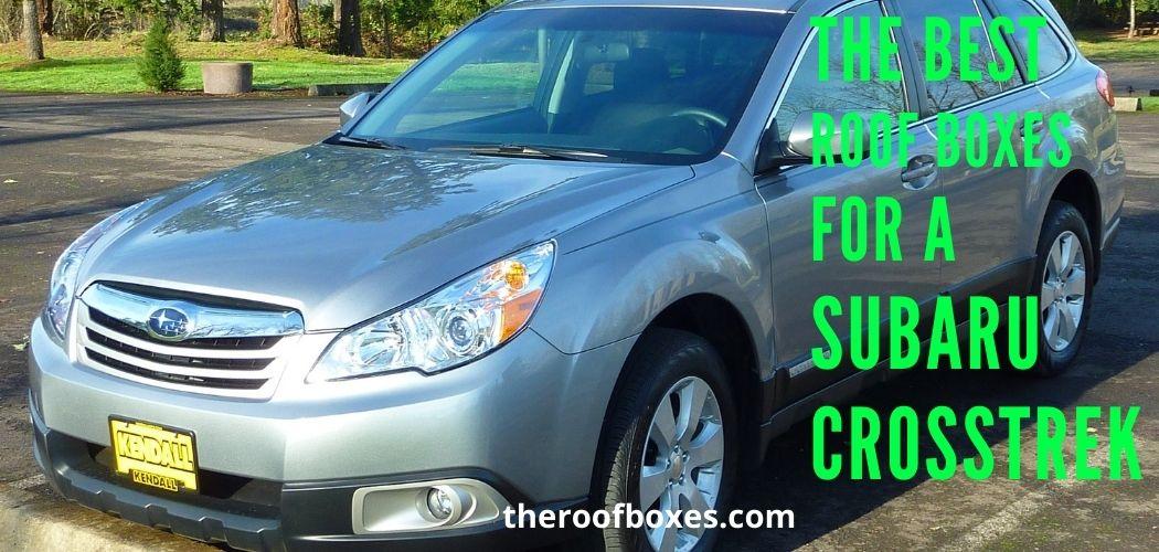 Subaru Crosstrek Roof Box