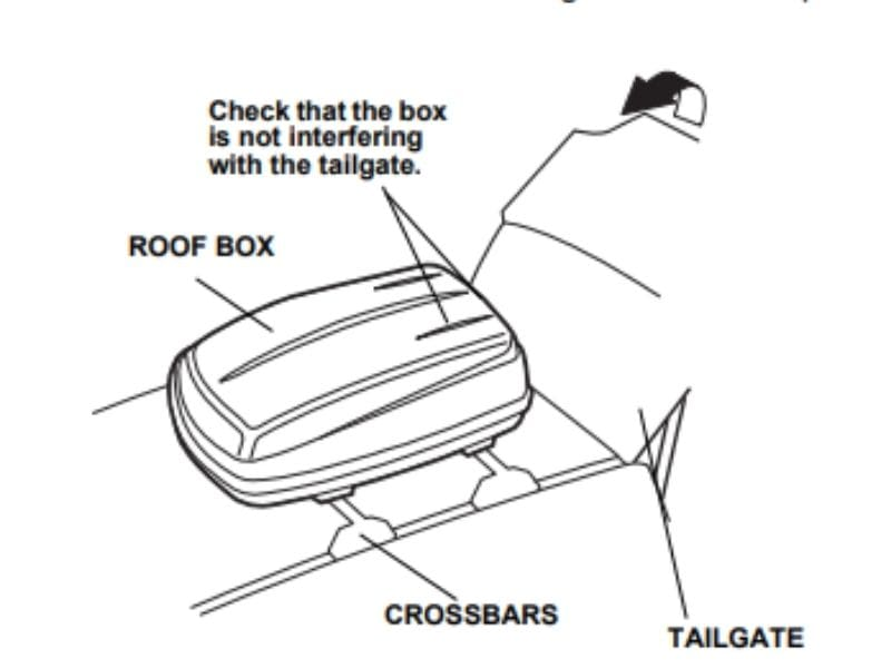 Acura MDX Roof Box INSTALLATION INSTRUCTIONS: