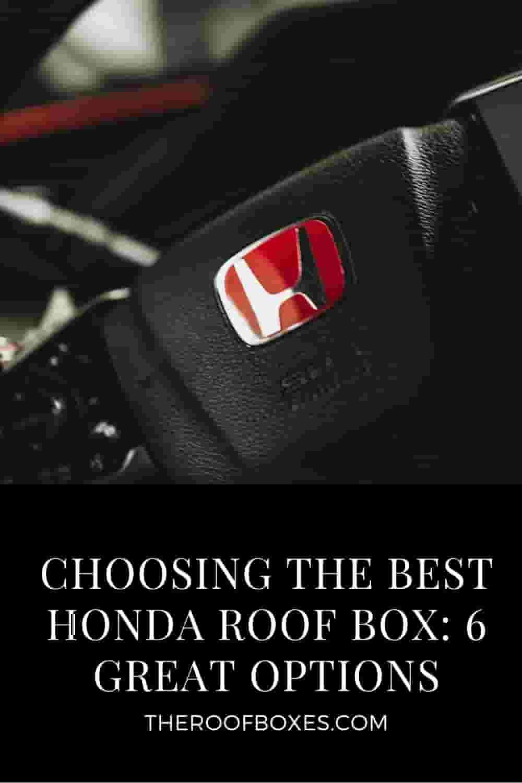 HONDA Roof Cargo Box – Reviews and Comparison