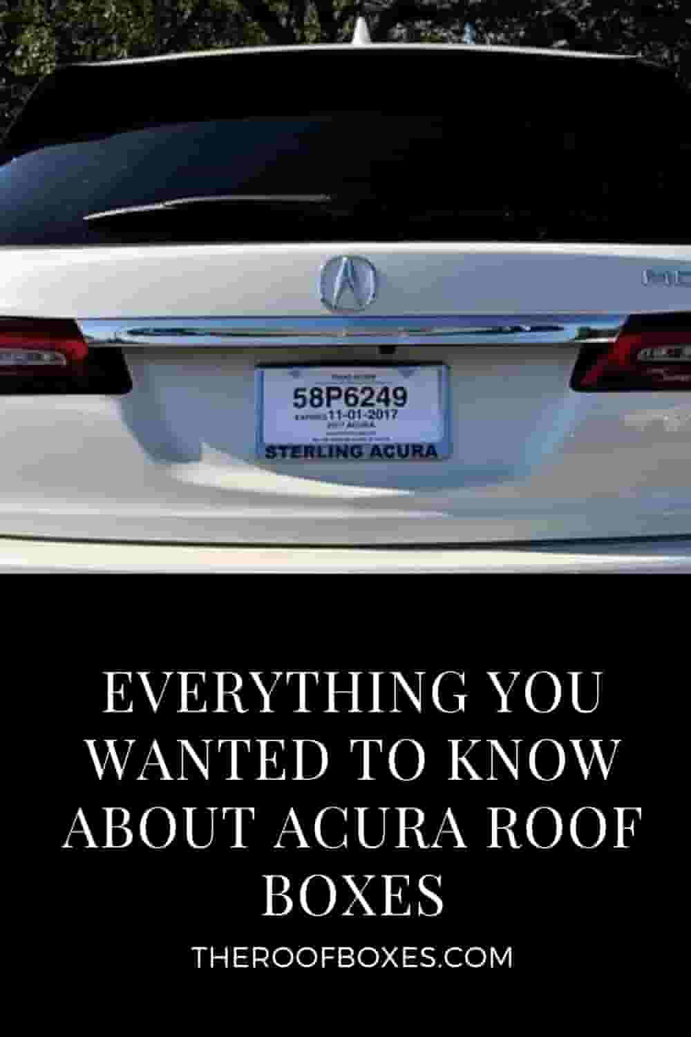 Acura Roof Cargo Box – Reviews and Comparison