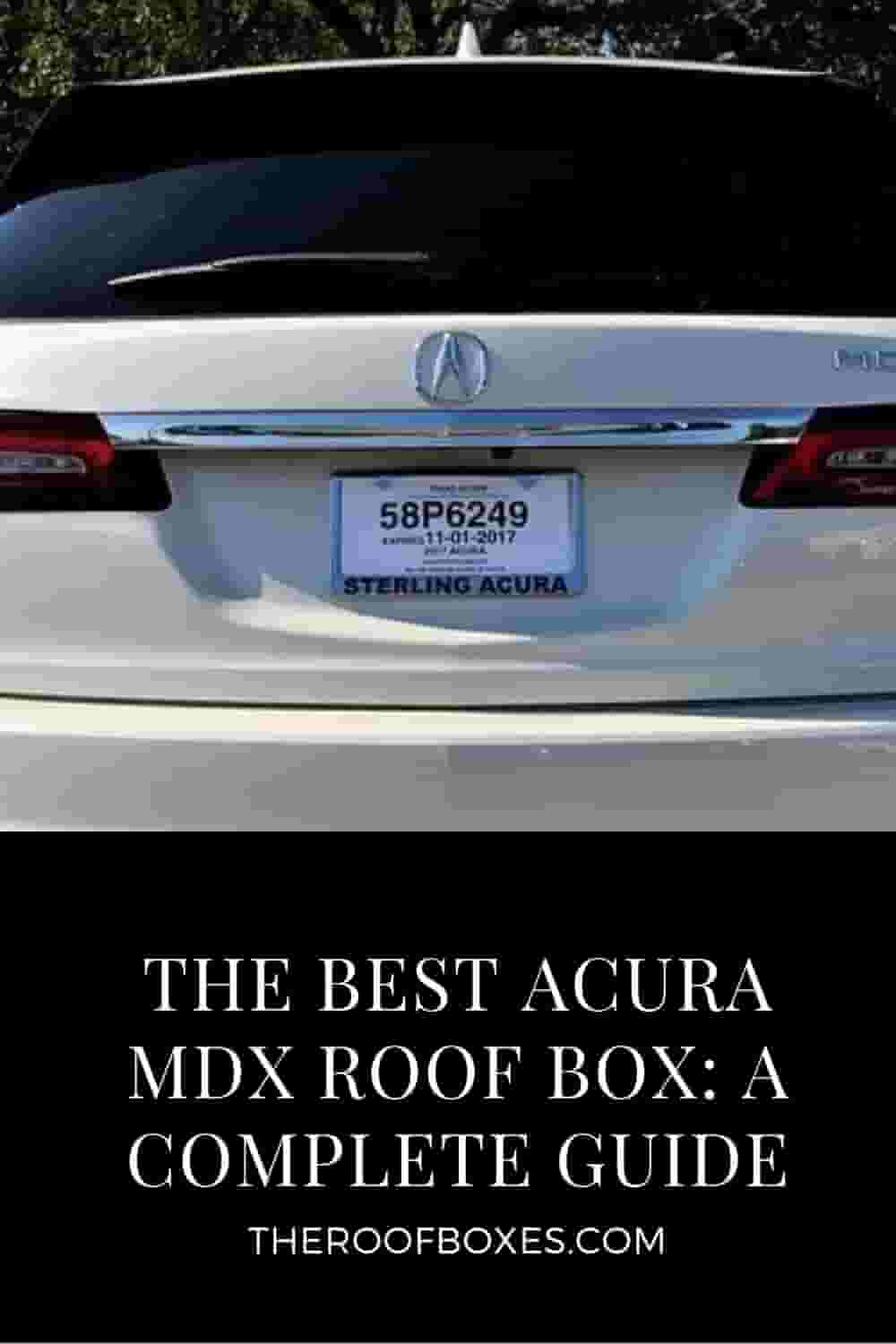 Acura MDX Roof Box– Reviews and Comparison