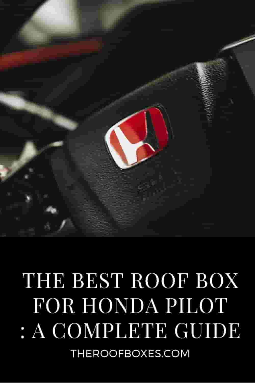 Roof Cargo Box For HONDA PILOET – Reviews and Comparison