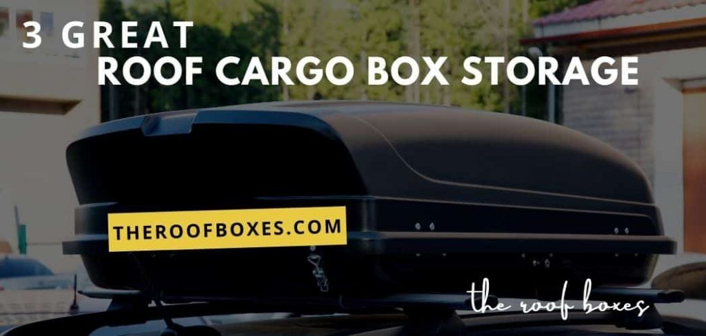 3 Great Ideas Storage for your Roof Cargo Box Storage