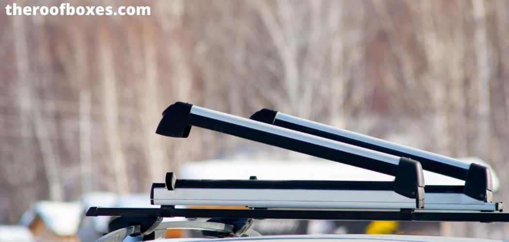 Locking Ski and Snowboard Rack