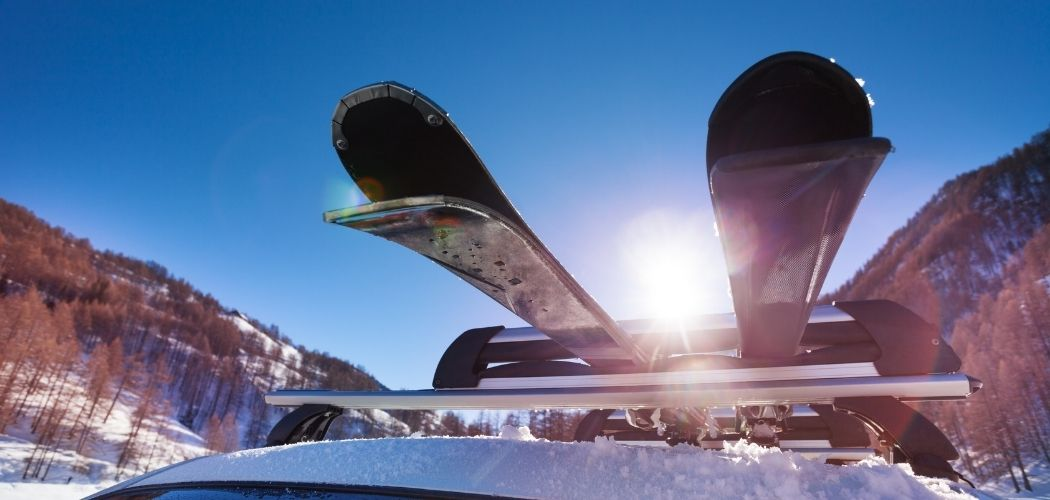 winter sports roof cargo carriers ( skis and snowboards )